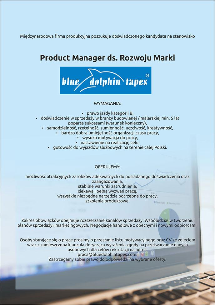 2e13fdc788 Praca Product Manager ds. Rozwoju Marki