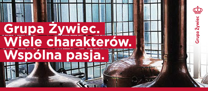 Grupa Żywiec. Wiele charakterów. Wspólna pasja.