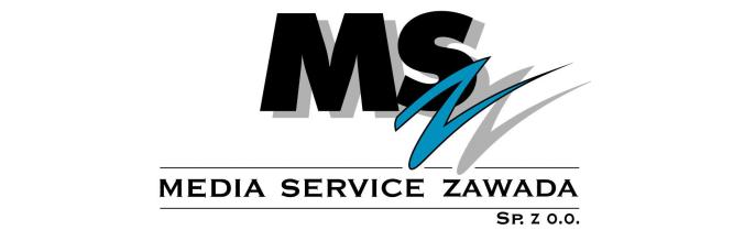 Znalezione obrazy dla zapytania media service zawada logo