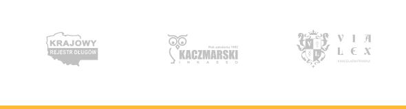 Logo Krajowy Rejestr Długów, Kaczmarski Inkasso, Vialex