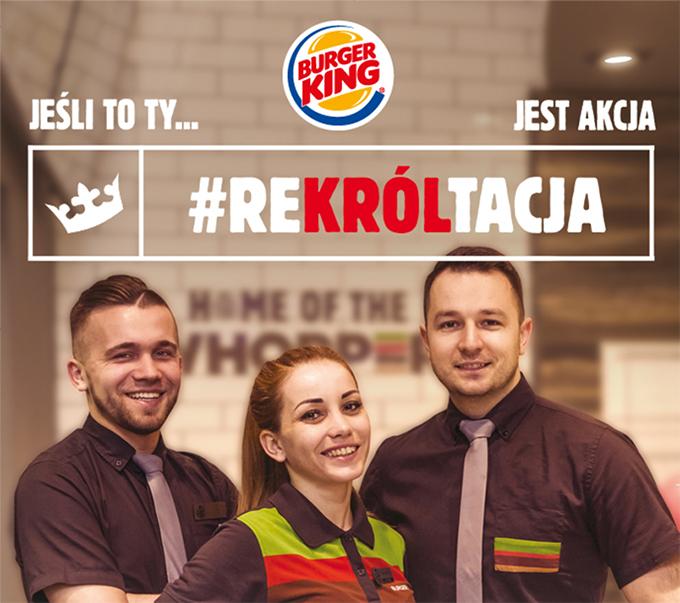 Praca Kierownik Zmiany w restauracji Burger King, Ostróda